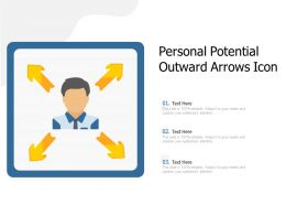 Personal Potential Outward Arrows Icon