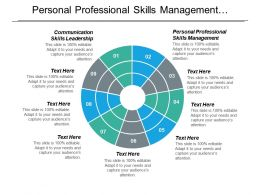 Personal Professional Skills Management Communication Skills Leadership Organizational Skills Cpb