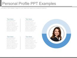 Personal Profile Ppt Examples