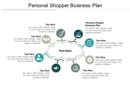 Personal Shopper Business Plan Ppt Powerpoint Presentation Infographic Template Show Cpb