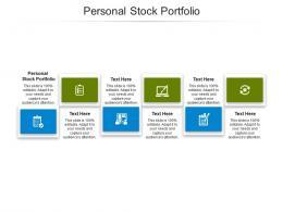 Personal Stock Portfolio Ppt Powerpoint Presentation Outline Demonstration Cpb