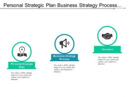 Personal Strategic Plan Business Strategy Process Market Development Plan Cpb