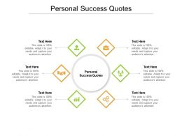 Personal Success Quotes Ppt Powerpoint Presentation Layouts Graphics Tutorials Cpb