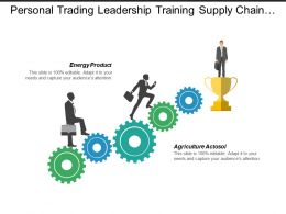 Personal Trading Leadership Training Supply Chain Event Planning Cpb