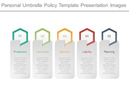 Personal Umbrella Policy Template Presentation Images