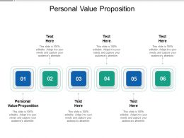 Personal Value Proposition Ppt Powerpoint Presentation Pictures Portrait Cpb