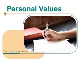 Personal Values Psychological Growth Development Credibility Affinity