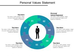 Personal Values Statement Ppt Powerpoint Presentation Icon Designs Download Cpb