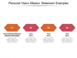 Personal Vision Mission Statement Examples Ppt Powerpoint Presentation Inspiration Slide Cpb