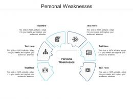 Personal Weaknesses Ppt Powerpoint Presentation Ideas Examples Cpb