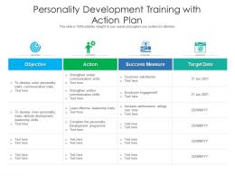 Personality Development Training With Action Plan