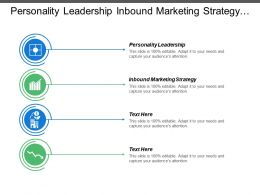 Personality Leadership Inbound Marketing Strategy Sales Funnels Strengths Leadership