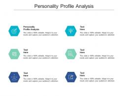Personality Profile Analysis Ppt Powerpoint Presentation Professional Slide Cpb