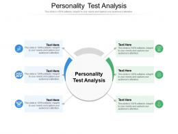 Personality Test Analysis Ppt Powerpoint Presentation Show Cpb
