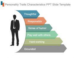 Personality Traits Characteristics Ppt Slide Template