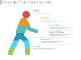 Personality Traits Powerpoint Slide