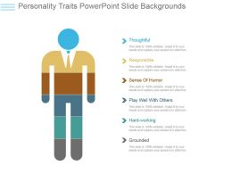 Personality Traits Powerpoint Slide Backgrounds