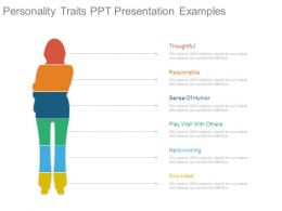 Personality Traits Ppt Presentation Examples