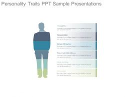 Personality Traits Ppt Sample Presentations