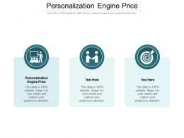 Personalization Engine Price Ppt Powerpoint Presentation Styles Outline Cpb