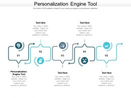 Personalization Engine Tool Ppt Powerpoint Presentation Slides Show Cpb