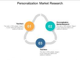 Personalization Market Research Ppt Powerpoint Presentation Portfolio Show Cpb