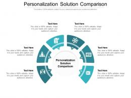 Personalization Solution Comparison Ppt Powerpoint Presentation File Display Cpb