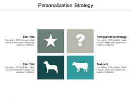 Personalization Strategy Ppt Powerpoint Presentation Infographic Template Styles Cpb