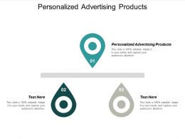 Personalized Advertising Products Ppt Powerpoint Presentation Gallery Graphics Cpb