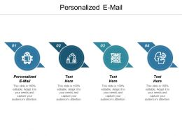 Personalized E Mail Ppt Powerpoint Presentation Icon Example Cpb