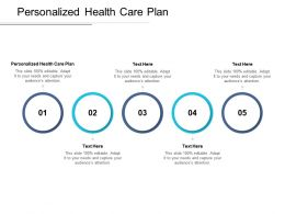 Personalized Health Care Plan Ppt Powerpoint Presentation Gallery Visuals Cpb