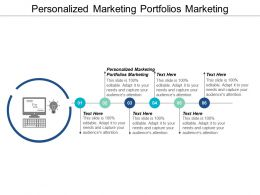 Personalized Marketing Portfolios Marketing Ppt Powerpoint Presentation Slides Deck Cpb