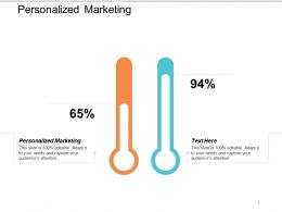 Personalized Marketing Ppt Powerpoint Presentation Summary Example Cpb
