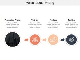 Personalized Pricing Ppt Powerpoint Presentation Pictures Background Images Cpb