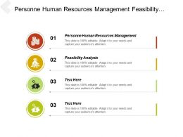 Personnel Human Resources Management Feasibility Analysis Development Change Management Cpb