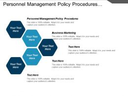 Personnel Management Policy Procedures Business Marketing Visual Merchandising Cpb