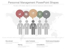 Personnel Management Powerpoint Shapes