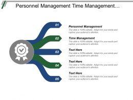 Personnel Management Time Management Project Management Exit Strategy Cpb