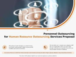 Personnel Outsourcing For Human Resource Outsourcing Services Proposal Ppt Powerpoint Presentation Show