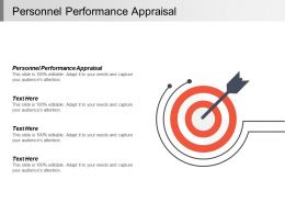 Personnel Performance Appraisal Ppt Powerpoint Presentation Infographic Template Design Templates Cpb