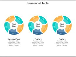 Personnel Table Ppt Powerpoint Presentation Icon Information Cpb