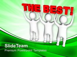 Persons Join Forces To Lift The Best Powerpoint Templates Ppt Backgrounds For Slides 0213
