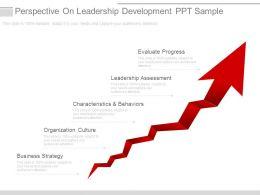 Perspective On Leadership Development Ppt Sample