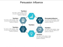 Persuasion Influence Ppt Powerpoint Presentation Model Graphics Pictures Cpb