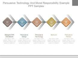Persuasive Technology And Moral Responsibility Example Ppt Samples