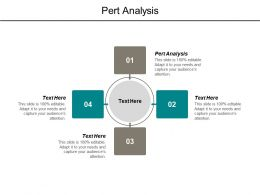 Pert Analysis Ppt Powerpoint Presentation Outline Templates Cpb