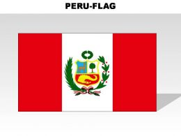 Peru Country Powerpoint Flags