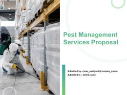 Pest Management Services Proposal Powerpoint Presentation Slides