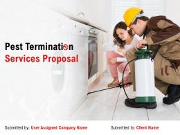 Pest Termination Services Proposal Powerpoint Presentation Slides