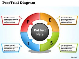Pest Trial Diagram Powerpoint Slides Presentation Diagrams Templates